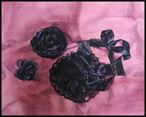 Gothic Lolita details: Metamorphose headpiece with roses